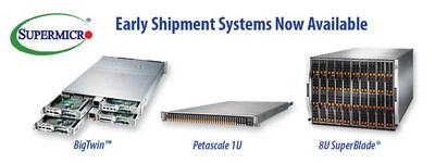Todo o portfólio do sistema X11 da Supermicro disponível com processadores escaláveis Intel Xeon da próxima geração