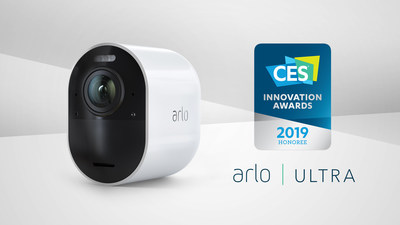 Arlo Ultra Named as 2019 CES Innovation Award Honoree