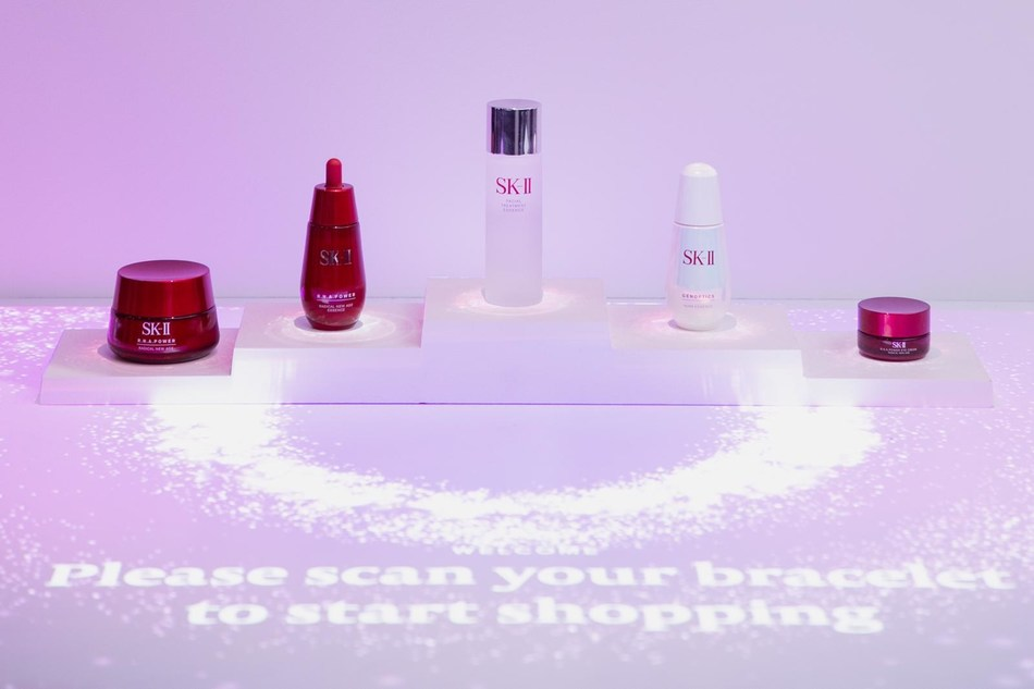 SK-II transforms beauty retail shopping experiences with the Future X Smart Store that debuts at CES 2019