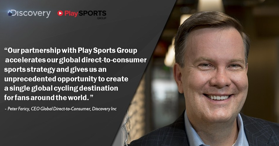 Peter Faricy, CEO, Global Direct to Consumer at Discovery Inc.