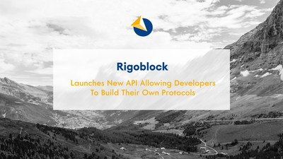 Rigoblock is set to launch its new API to build on top of the already functioning protocol (PRNewsfoto/RigoBlock)