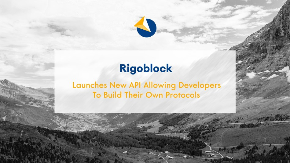 Rigoblock is set to launch its new API to build on top of the already functioning protocol
