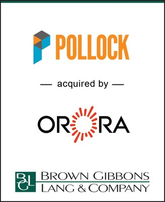 Brown Gibbons Lang & Company (BGL) is pleased to announce the sale of Pollock Investments Inc. to Orora Limited (ASX:ORA). BGL's Diversified Industrials and Distribution team served as the exclusive financial advisor to Pollock in the transaction.