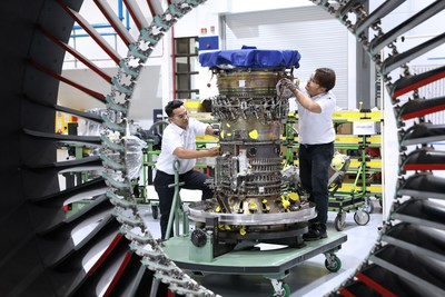 Eagle Services Asia Inducts First Pratt & Whitney GTF Engine