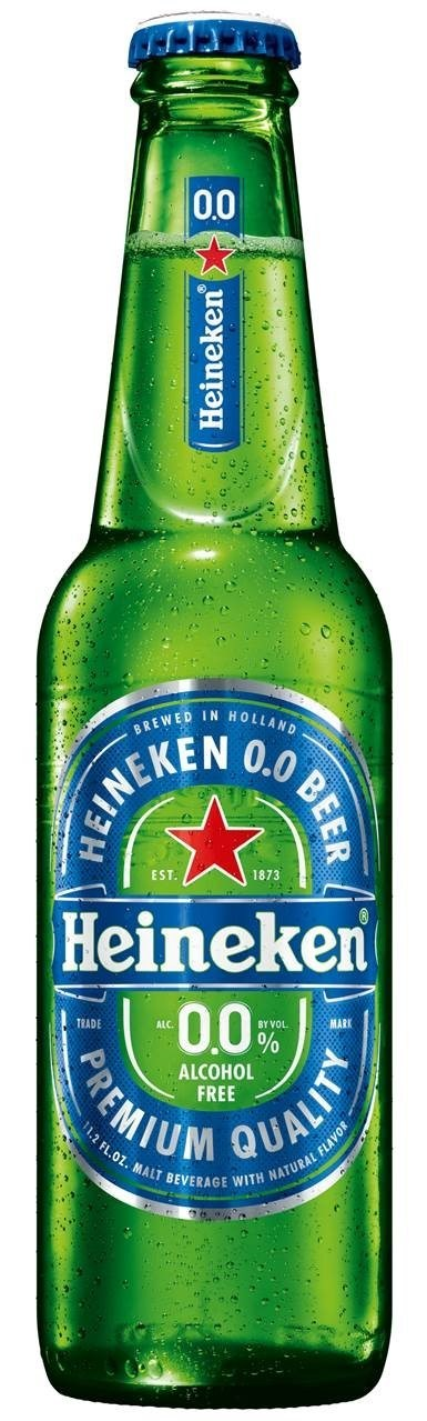 HEINEKEN USA presents its latest and most exciting innovation, Heineken® 0.0, an alcohol-free malt beverage brewed with a unique recipe for a distinct, balanced taste – with only 69 calories per bottle.