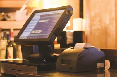 Epson TM-U220 Printer on Checkout Counter