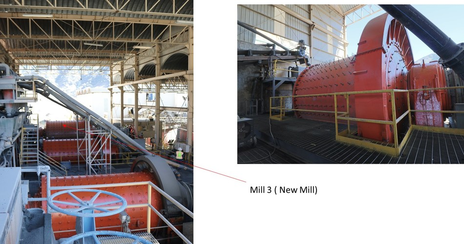 Image 3: New Mill (CNW Group/Sierra Metals Inc.)