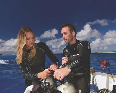 Philippe and Ashlan Cousteau. Photo Credit: Richard Brooks