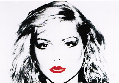 "Andy Warhol's ""Debra Harry"" will be on display."