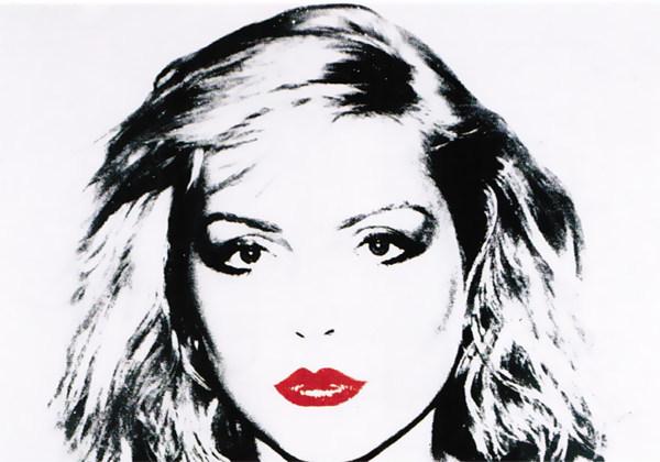 "Andy Warhol's ""Debra Harry"" will be on display."