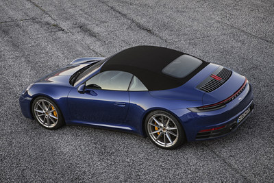 The eighth generation of the iconic Porsche 911 Cabriolet was unveiled on January 8, 2019. (CNW Group/Porsche Cars Canada)