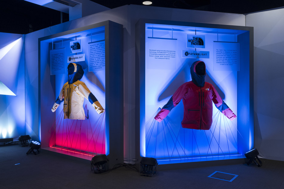 The North Face FUTURELIGHT™ Experience on January 8, 2019 in Las Vegas, NV. (PRNewsfoto/The North Face)