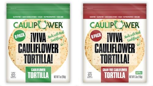VIVA LA VEGOLUTION: CAULIPOWER LAUNCHES NEW CAULIFLOWER TORTILLA LINE
