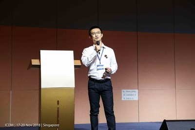 Squirrel AI Learning's chief scientist Wei Cui delivered a speech