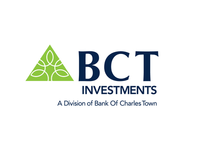 BCT Investments, a division of Bank of Charles Town at www.mybct.bank (PRNewsfoto/BCT Investments)