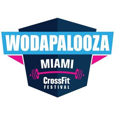 Wodapalooza Miami CrossFit Festival Logo