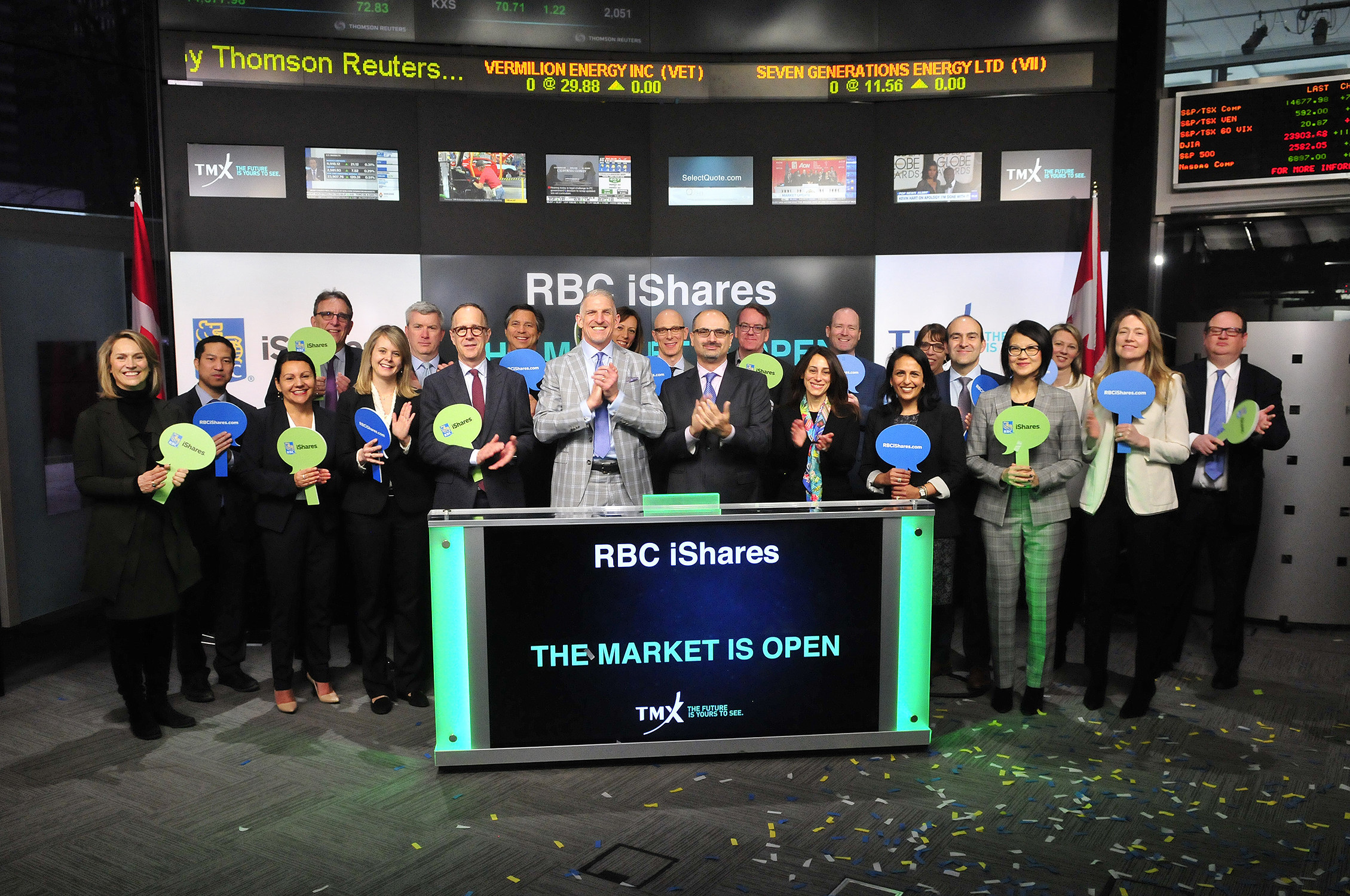 RBC iShares Opens the Market (CNW Group/TMX Group Limited)