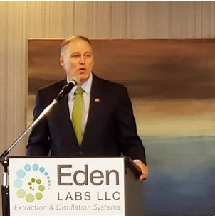 Governor Jay Inslee Addresses Cannabis Alliance Annual Summit
