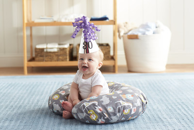 Celebrating 30 Years: Boppy® Feeding and Infant Support Pillow in Sketch Slate
