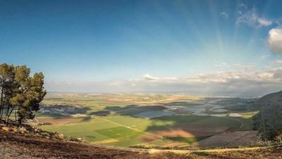 Valley of the Springs in Zion's 99,000-acre Megiddo-Jezreel license in Israel