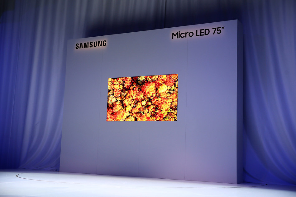 Samsung Unveils The Future of Displays with Groundbreaking Modular Micro LED Technology at CES (CNW Group/Samsung Electronics Canada)