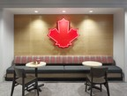 Iconic Canadian symbols and decorations are included throughout the office and in common areas. Photography credit: A Frame Inc. (CNW Group/Tim Hortons)