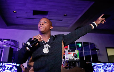 O.T. Genasis performs at LiveXLive Presents event at CATCH Las Vegas on January 8, 2019.