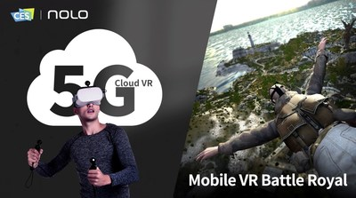 5G Cloud VR & Mobile VR Battle Royale