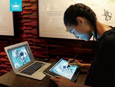 Tablette graphique KAMVAS Pro 13 (PRNewsfoto/Huion)