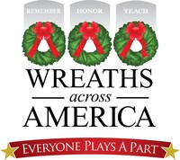 This year, National Wreaths Across America Day is Saturday, December 14, 2019. It is always a free event and open to all people. For more information on how to volunteer locally or sponsor a wreath for a hero in your hometown, please visit www.wreathsacrossamerica.org. (PRNewsfoto/Wreaths Across America)
