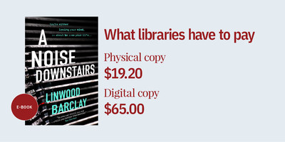 Price discrepancies between physical and digital copy (CNW Group/The Canadian Urban Libraries Council)