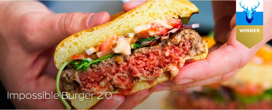 The biggest innovation at CES 2019 is a hamburger