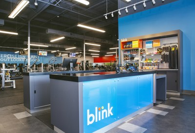 Blink Fitness 80th location, in Burbank