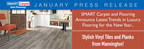 SMART Carpet and Flooring Announce Latest Trends in Luxury Flooring for the New Year: Stylish Vinyl Planks and Tiles from Mannington