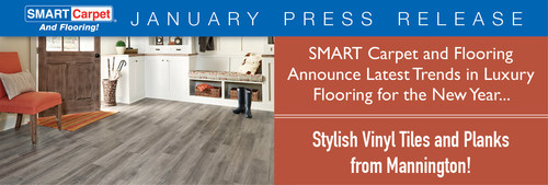 SMART Carpet and Flooring announce latest trends in luxury flooring for the new year