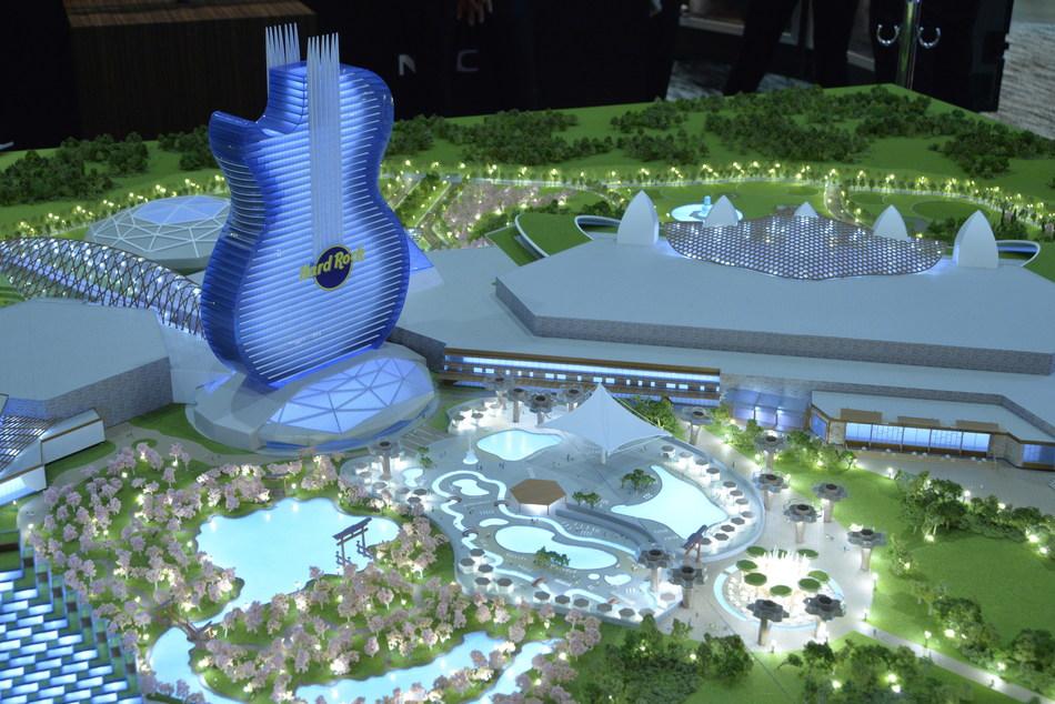 Rendering of Hard Rock Japan's World-Class Entertainment Resort