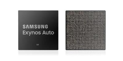 Exynos Auto V9 de Samsung pour alimenter la plateforme de système d'infodivertissement embarqué de prochaine génération pour Audi (Groupe CNW/Samsung Electronics Canada)