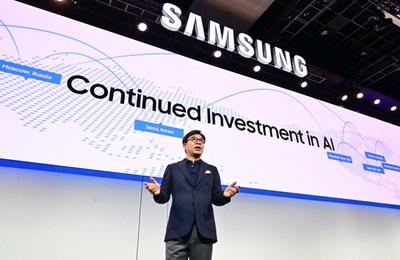 Soulignant les avancées dans le domaine de l'IA, l'IdO et du 5G, en plus de produits et de technologies de prochaine génération, Samsung démontre comment les consommateurs peuvent vivre une Vie connectée (Groupe CNW/Samsung Electronics Canada)