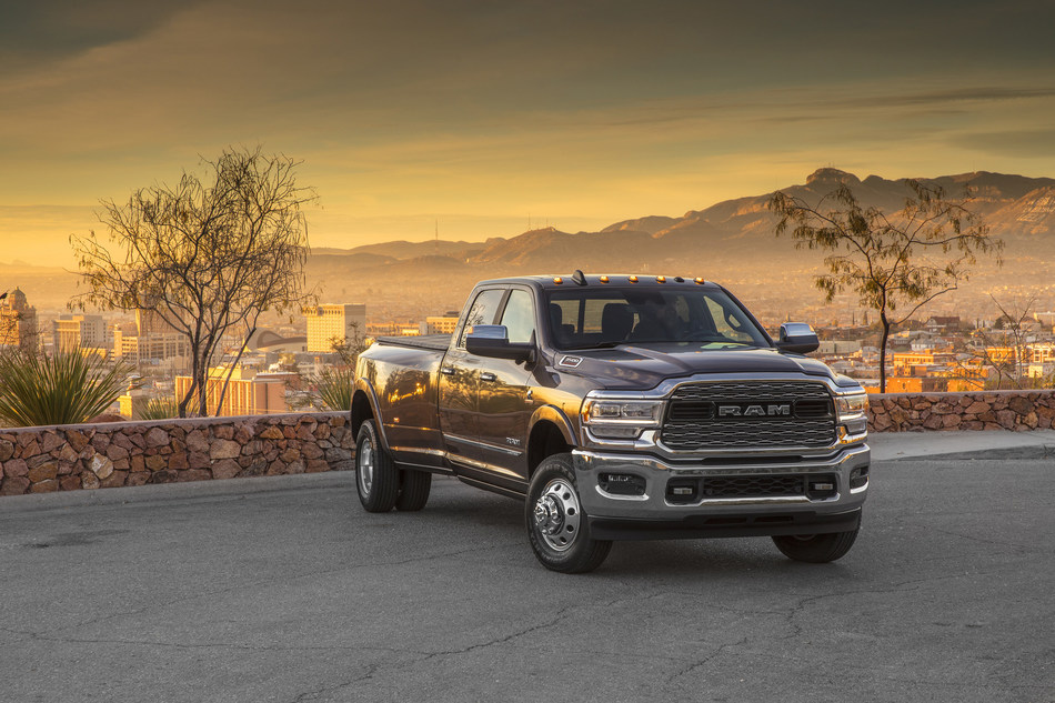 New 2019 Ram Heavy Duty Debuts at the Annual North American International Auto Show in Detroit, Michigan