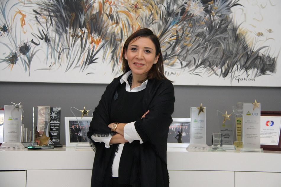 President of UTIB, Ms. Pinar TASDELEN ENGIN (PRNewsfoto/UTIB)