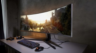 Samsung's New 2019 Monitors Are Designed for Modern Workspaces and Next Generation Gaming (CNW Group/Samsung Electronics Canada)