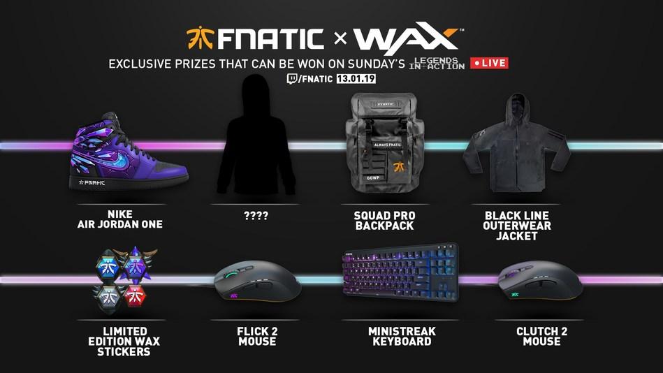 Fnatic & WAX exclusive giveaway.