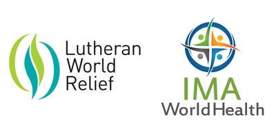 LWR IMA logos (PRNewsfoto/Lutheran World Relief)