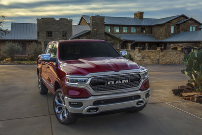 All-new 2019 Ram 1500 wins North American Truck of the Year, jurors cited Ram's eTorque mild-hybrid tech, luxury interiors and 12-inch Uconnect touchscreen among reasons for selecting the Ram 1500