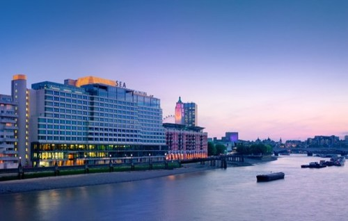 Sea Containers London on the River Thames in the South Bank Neighborhood