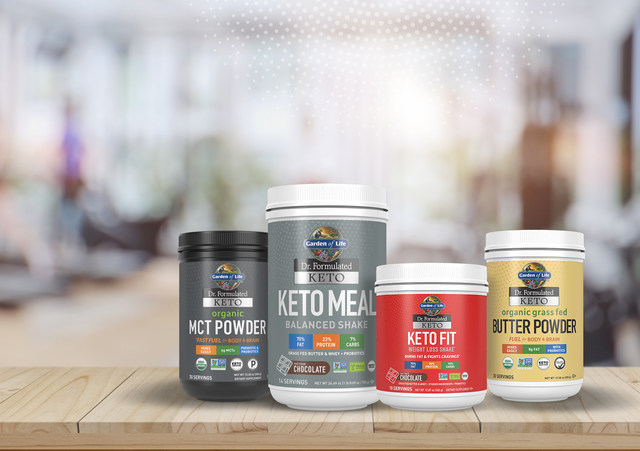 Garden of Lifestyles® launches first clean and simple keto line