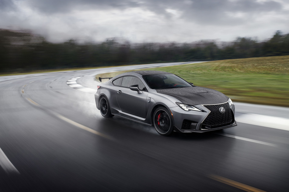 Freshly updated for the 2020 model year, the RC F coupe now boasts improved performance, revised styling and an all-new, limited production Track Edition.