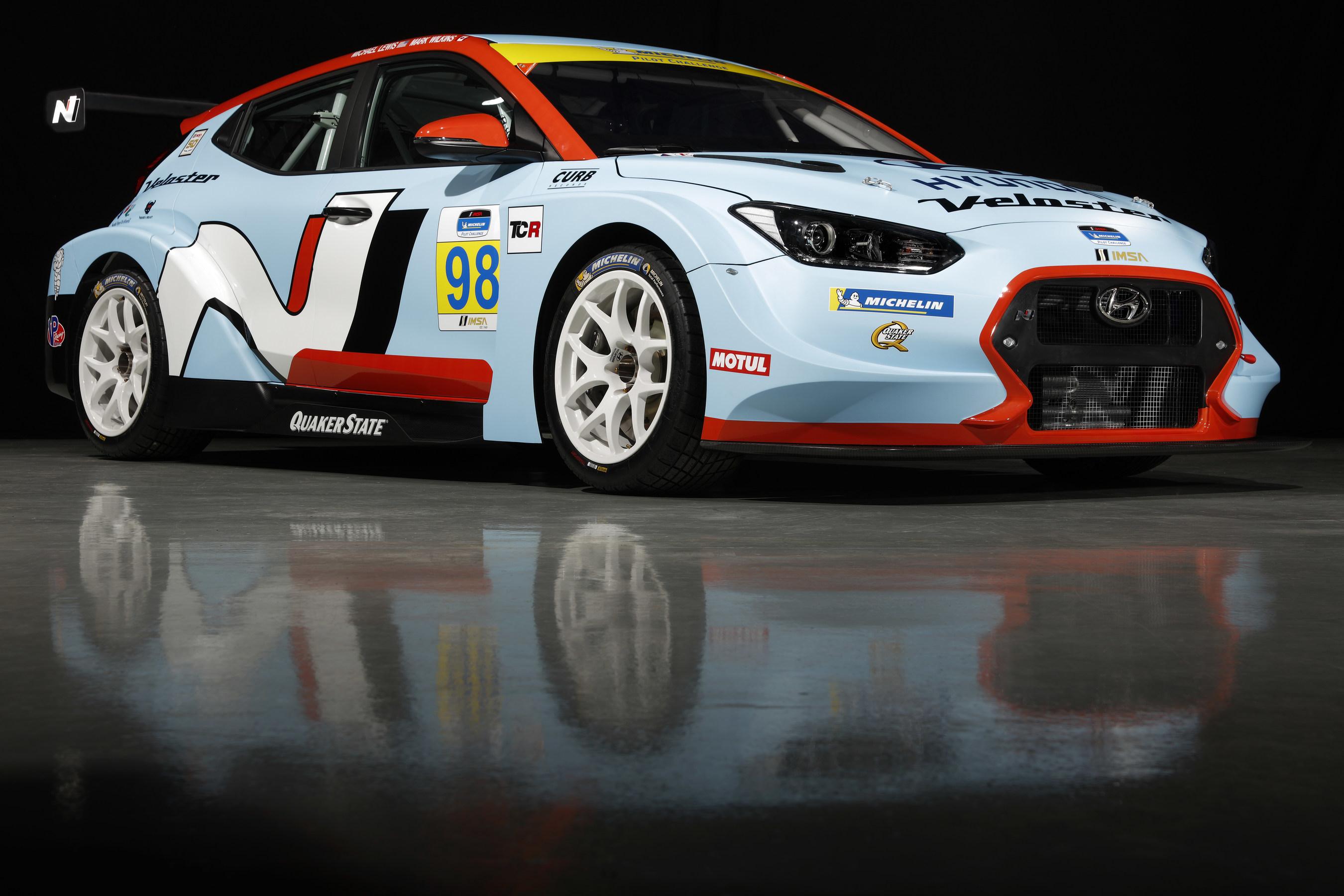 Hyundai Veloster N Race Car Makes World Debut at North American