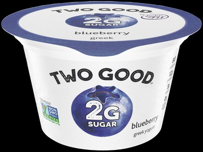 Two Good Blueberry Greek Lowfat Yogurt