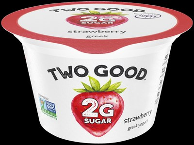 Two Good Strawberry Greek Lowfat Yogurt